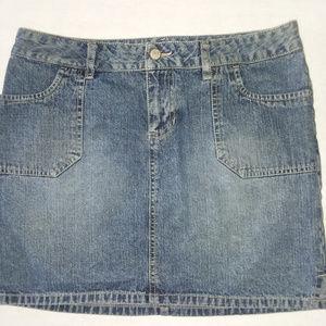 Canyon River Blues Blue Denim Skirt Junior Size 9